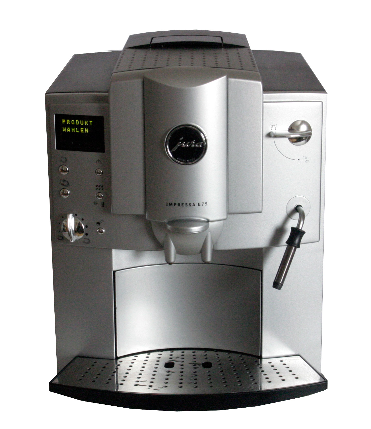 jura e75 kaffeevollautomat kaffeemaschine espressoautomat. Black Bedroom Furniture Sets. Home Design Ideas